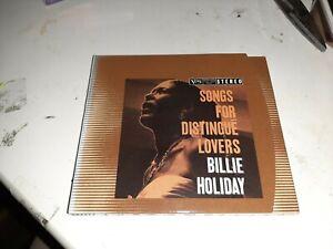 CD ALBUM BILLIE HOLIDAY Songs for distingué lovers JAZZ FOLK ROCK musique noire
