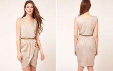 ASOS Polyester Solid Regular Size Dresses for Women