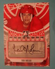 2012/13 IN THE GAME MOTOWN MADNESS TED NOLAN   AUTOGRAPH *