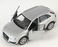 BLITZ VERSAND Audi Q3 silber / silver Welly Modell Auto 1:34-39 NEU & OVP