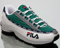 Fila Dragster 97 Mens White Green Casual Sneakers Lifestyle Shoes 1010570-90Q