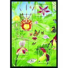 Bloc Feuillet BF81 - Série Nature - Orchidées - 2005