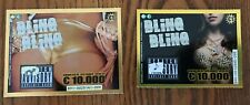 Bling Bling Jewelry Instant  Lottery Tickets 2  different