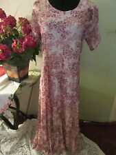 Womens Xotica Crinkled Lacy Dress Scoop Neckline Size Small
