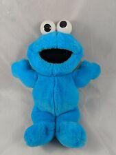 "Tyco Sesame Street Cookie Monster Plush 11"" Stuffed Animal"