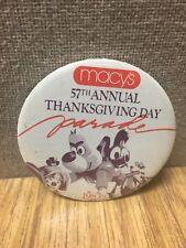 Macy's Thanksgiving Day Parade 1983 Pin Underdog Woody Wood Pecker Yogi Bear