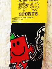 BOYS KNEE HIGH MR MEN STRONG QUALITY SKI SKIING FOOTBALL WELLY SPORT BOOT SOCKS