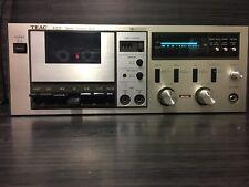 Rara Piastra per cassette stereo Teac A-109 ( Leggi Descrizione )