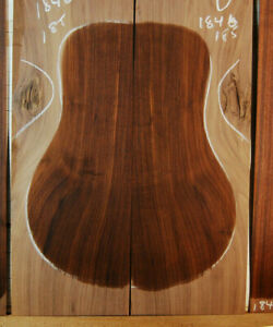 old eastern black walnut tonewood guitar luthier set back and sides 20+yrs