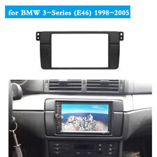 Double Din Radio Fascia Fit for BMW 3 Series E46 1998-2006 Stereo Panel Frame