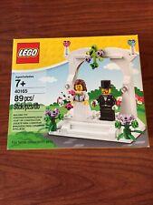 Lego Wedding Set Cake DECO Topper Bride and Groom Minifigures 89pcs NEW 40165