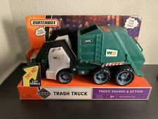 Matchbox Waste Management Trash Truck - New In Box - Rare
