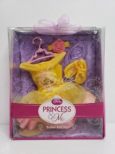 Disney Princess & Me Ballet Recital Belle 4 Piece Set Yellow 2010