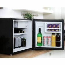 Cookology Table Top Mini Fridge in Black a Rated 46 Litre Refrigerator With I