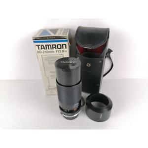 TAMRON 80-210 CF TELE MACRO BBAR MC CON ATTACCO OLYMPUS OM
