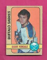 1972-73 OPC  # 136 SABRES GILBERT PERREAULT EX  CARD (INV# D1419)