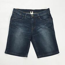 LesCopains shorts jeans pantalone corto hot usati estate donna tg 44 blu T1432