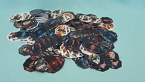 Rewe Star Wars 500 gemischte  Cosmic Shells Karten  Neu Sammelkarten