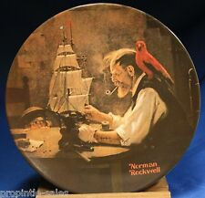 Knowles 1980 Plate ~ Norman Rockwell: The Ship Builder ~ Bradex 84-70-3.4