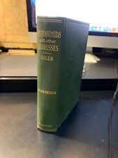 Sir William Osler / Aequanimitas with other Addresses to Medical Students 1932