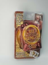 Lord of the Rings The Two Towers playing cards - Unopened, Rare.