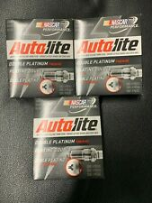 Lot of 3 Packs (12 Total) Autolite APP104 Double Platinum Spark Plugs
