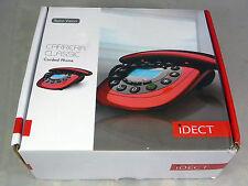 IDECT Carrera Classico Rosso Casa con filo Telefono telefonico vivavoce viva voce