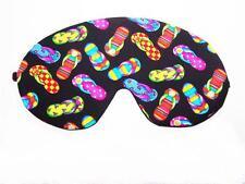 Travel Eye Sleep/Sleeping Mask - RAINBOW FLIP FLOPS made by Graggie Australia*GA