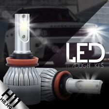 Cree LED Headlight Kit H8 H9 H11 2000W 300000LM 6000K Low Beam Fog Bulb 6500K 2X