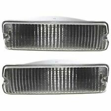 Turn Signal Light For 91-93 Dodge D250 W250 Plastic Lens LH & RH Below Headlamp