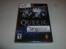 FACTORY SEALED BRAND NEW PLAYSTATION 2 PS2 VIDEO GAME QUEEN SINGSTAR NFS SONY >>