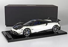 BBR Pagani Huayra BC Pearl White BBR1208B 1:12 LE 20pcs LARGE CAR*Rare Find!!