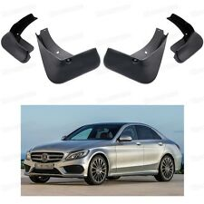 Car Mud Flaps Splash Guard Fender Mudguard for Mercedes-Benz C43 AMG 2017-Up