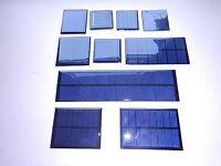 MINI SOLAR PANELS  multiple choice listing, 1v,2v,3v,4v sizes one flat delivery