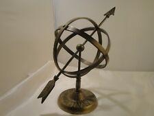 Armillary Nautical Brass Sphere Globe Astrolabe Decor