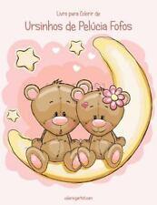 Ursinhos de Pelúcia Fofos: Livro para Colorir de Ursinhos de Pelúcia Fofos 1...