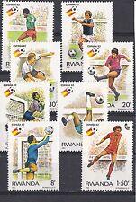 Rwanda 1982 - Sport  (Voetbal/Soccer/Fußball)