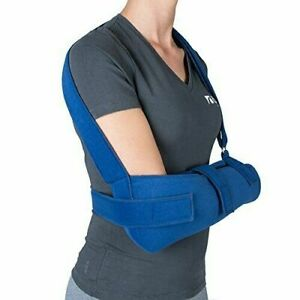 Össur High Arm Sling Shoulder Immobiliser Post Injury or Surgery Washable Blue