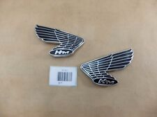 NEW HONDA CB100 CL100 CB125 CB175 CL175 S90Z FUEL TANK EMBLEM RL High Quality