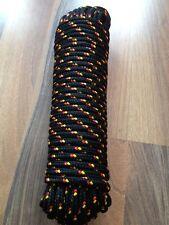 Nr.18  Schot,Rope,Ersatzseil 12 mm Grün 30m,Universal Seil,Tauwerk,Strick,Reep