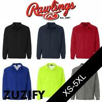Rawlings Nylon Coaches Jacket Windbreaker. 9718