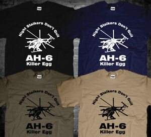 AH-6 Helicopter 160th US Special Operations Airborne Night stalkers T-shirt