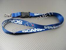 Blue SCANIA Lanyard Neck Strap Keys Phone ID Holder