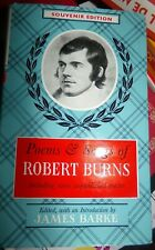 POEMS & SONGS OF ROBERT BURNS/ SOUVENIR EDITION / TBE