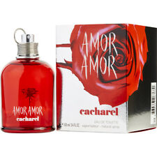 AMOR AMOR 100ml EDT SPRAY FOR WOMEN BY CACHAREL -------------------- NEW PERFUME