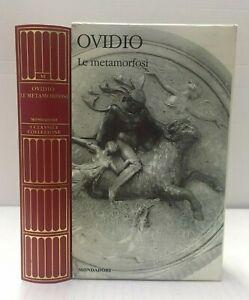 Ovidio LA METAMORFOSI Mondadori I Classici Collezione Greci e Latini 6 Libro