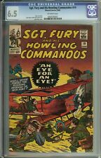 Sgt. Fury and his Howling Commandos #19 CGC 6.5