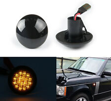 03-12 For Range Rover L322 HSE SC Smoke LED Side Marker Blinker Signal Light 2pc