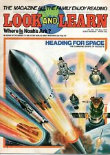 Vintage Magazine- Look and Learn  No 904 19th May 1979 -Noah's Ark Space Rockets