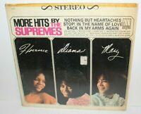 More Hits By The Supremes Vintage Vinyl Record Album LP S-627 Motwon 1965
